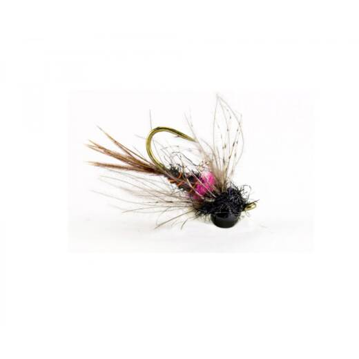 Traun River Drop Nymph Black