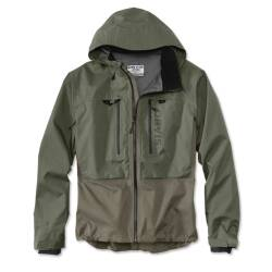 Orvis Pro Wading Jacket Men Large Olive-Brown
