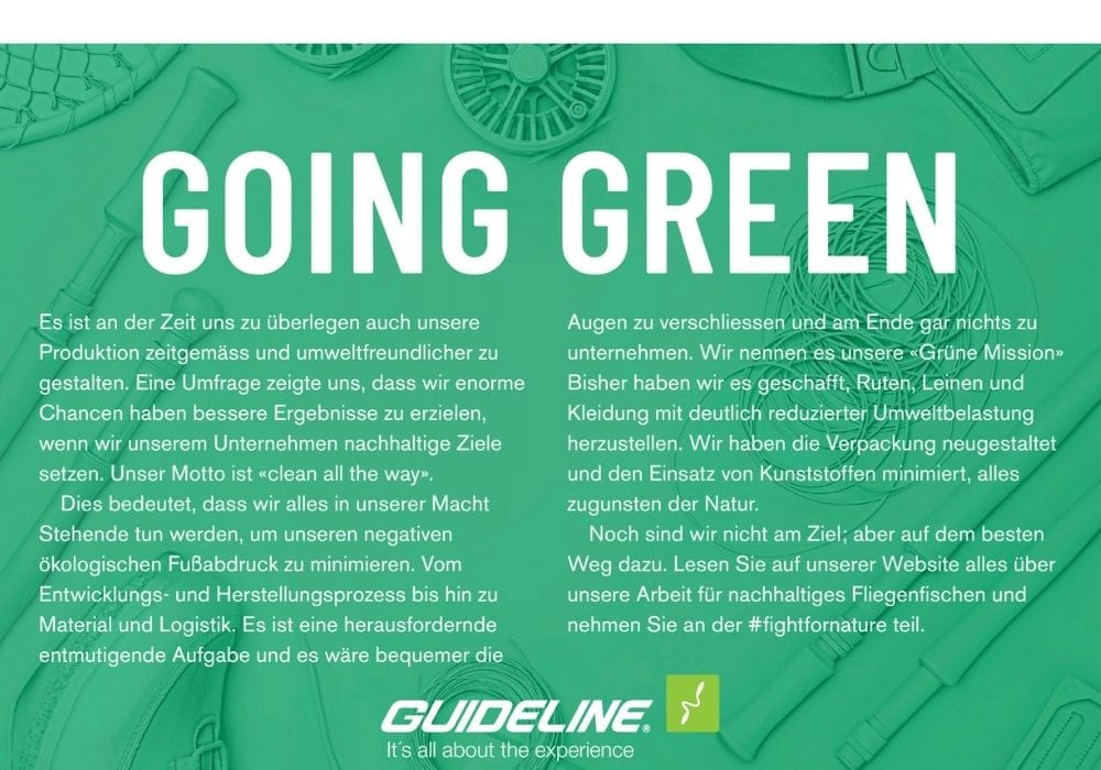 Guideline Going Green